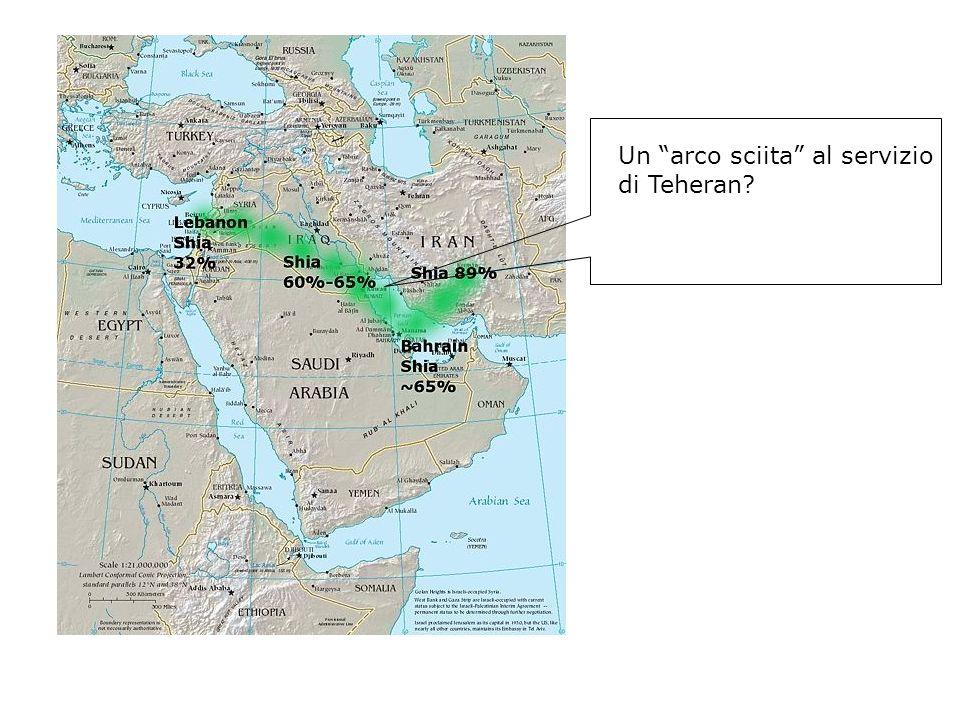 Un arco sciita al servizio di Teheran?
