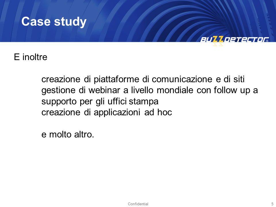Due anni fa, Buzzdetector ha realizzato una presentazione al management di Boehringer Italia sul servizio di monitoraggio strategico Da quel momento è nata una collaborazione su uno dei prodotti di punta dellazienda: Buscofen Quando è cominciato tutto?