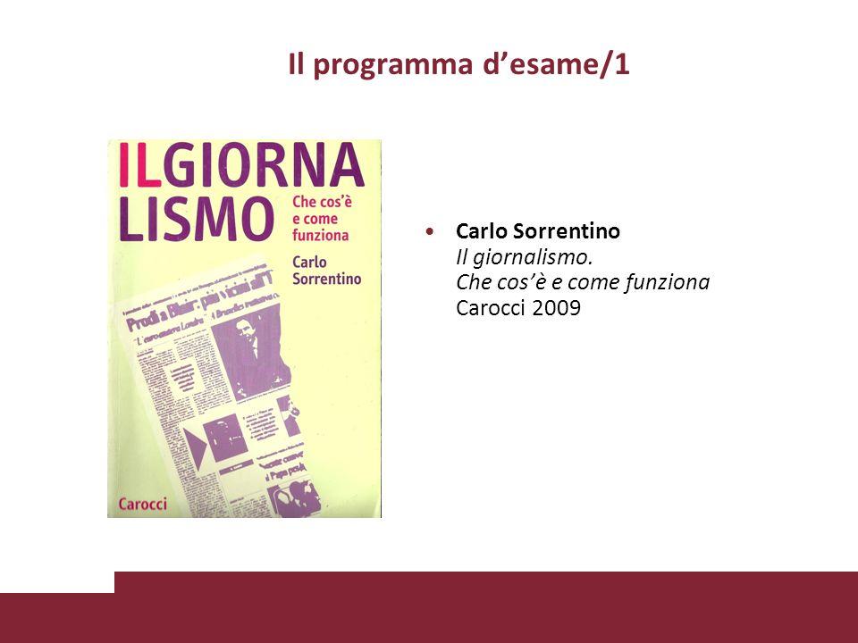 Il programma desame/2 Giorgio Zanchini Quale cultura per quale mercato.