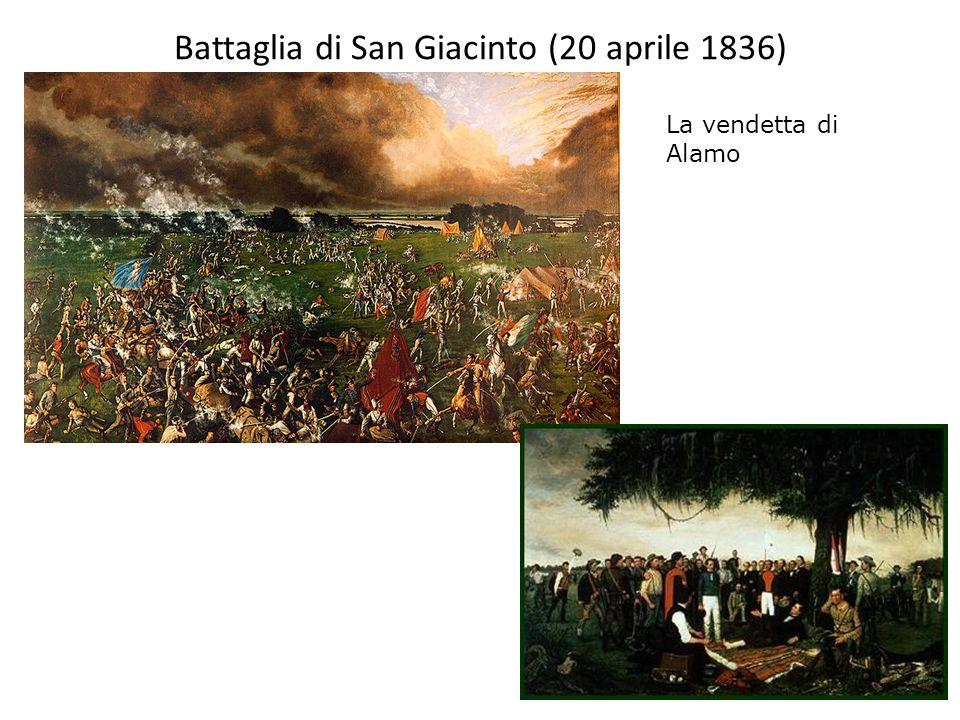 Battaglia di San Giacinto (20 aprile 1836) La vendetta di Alamo