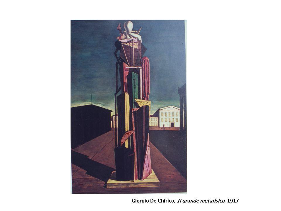 Giorgio De Chirico, Il grande metafisico, 1917