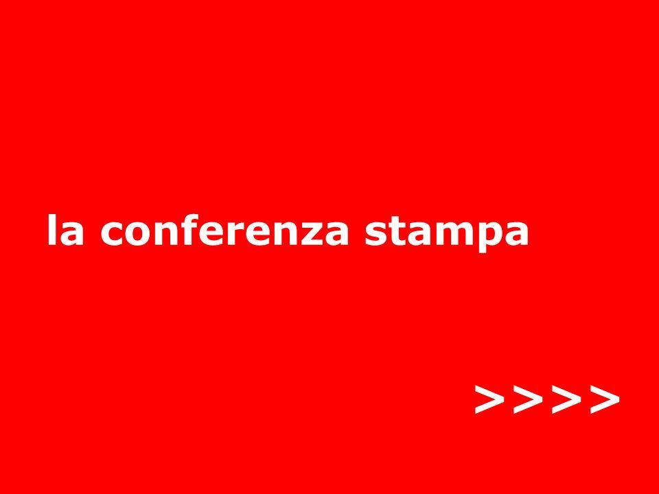 12 linvito stampa Lannuncio della conferenza: chi, cosa, dove, quando e perché Incuriosire … ma senza svelare tutto Primo obiettivo: finire in agenda Mi gioco lanteprima.