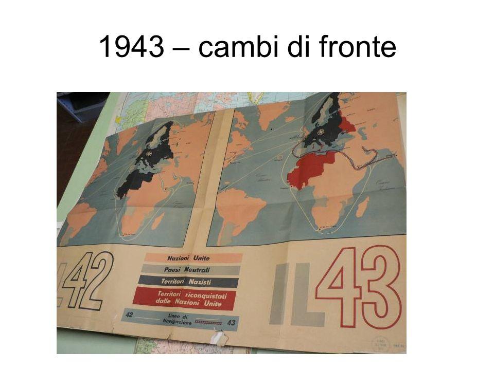 Italia – anni 30 Esempio di cartografia geopolitica