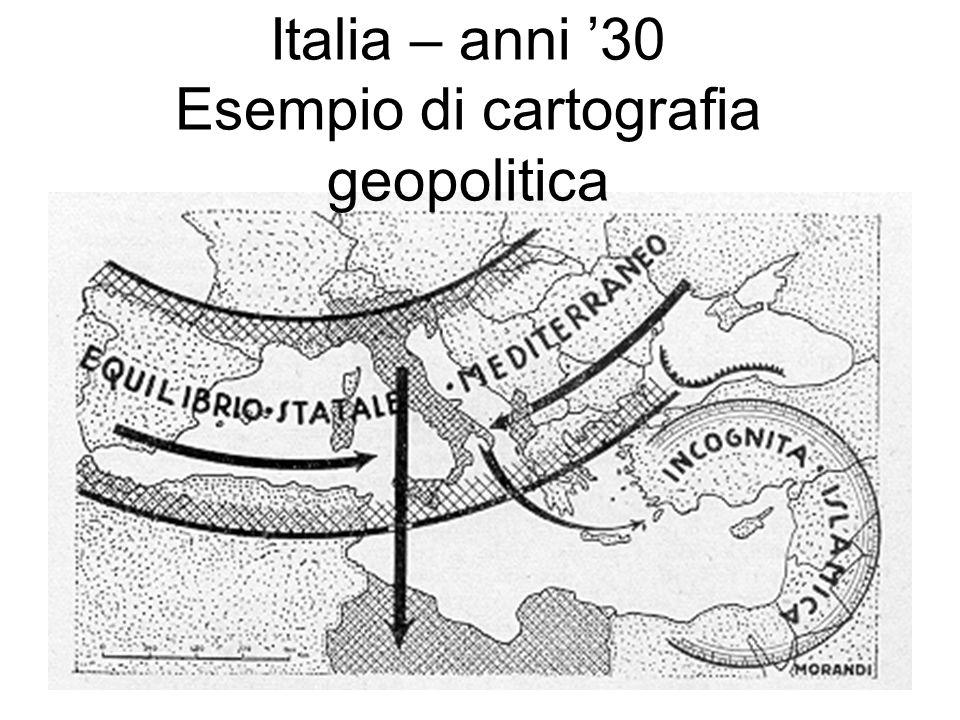 Cartogr afia geopoli tica: stilizza zione