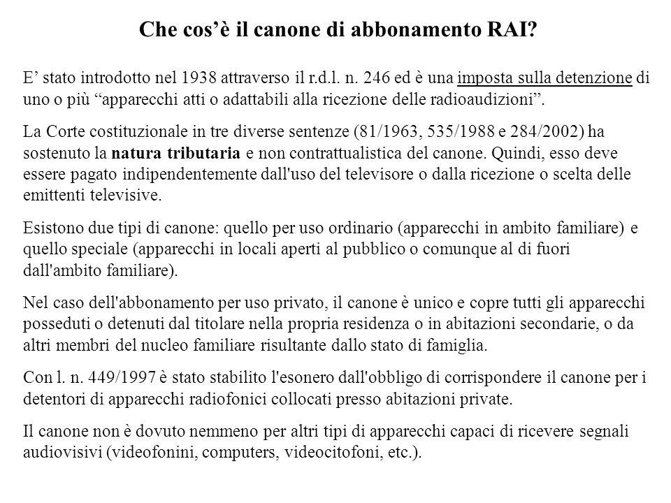 Corte costituzionale, sentenza n.58/1964 (sempre in tema di legittimità del canone RAI) «...