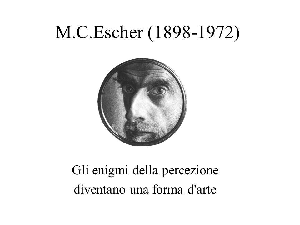 M.C.Escher (1898-1972) Gli enigmi della percezione diventano una forma d'arte