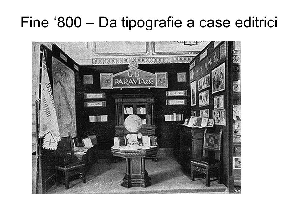 Fine 800 – Da tipografie a case editrici