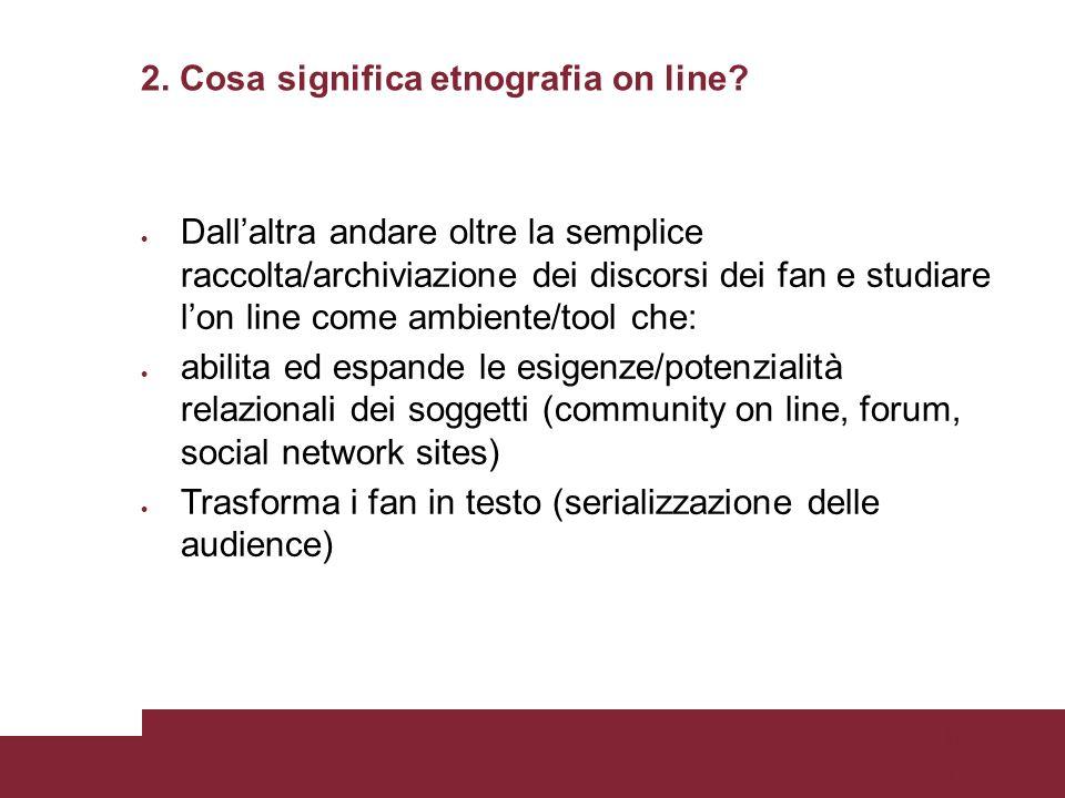 Pagina 78 Lanalisi del contenuto Descrizione obiettiva: si riferisce al livello di concordanza dei ricercatori su come interpretare i materiali da analizzare.