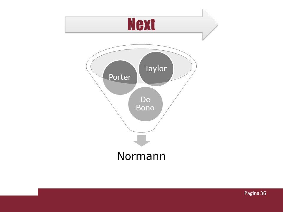 Pagina 36 Normann De Bono PorterTaylor Next