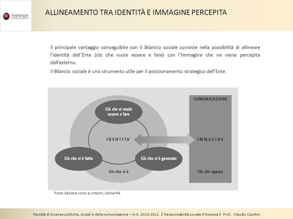 Facoltà di Scienze politiche, sociali e della comunicazione – A.A. 2010-2011 | Responsabilità sociale dimpresa | Prof. Claudio Cipollini Il principale