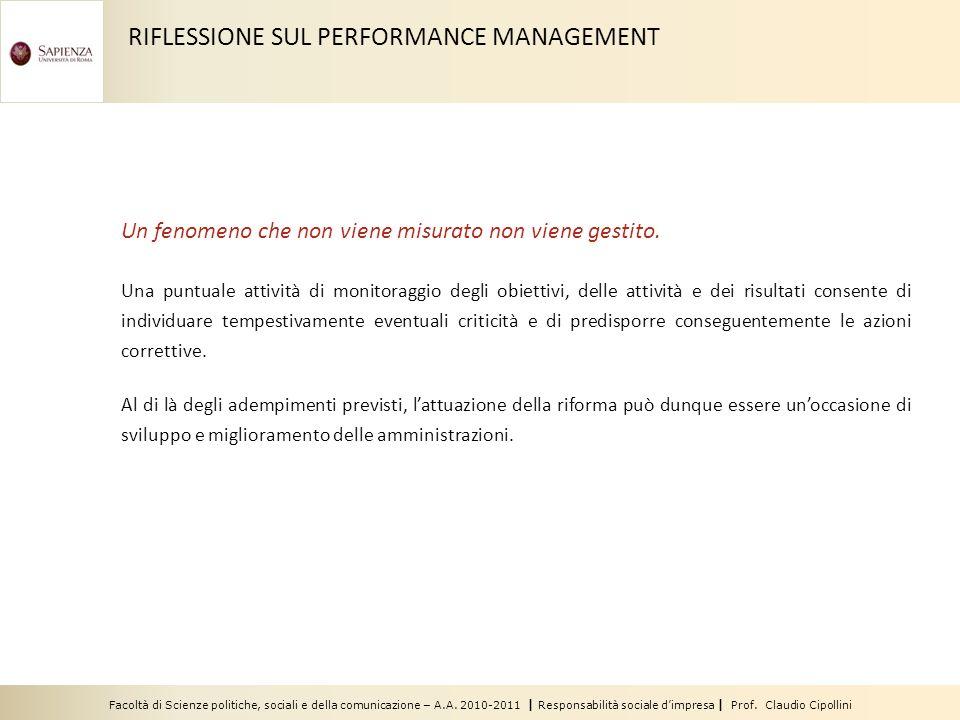 Facoltà di Scienze politiche, sociali e della comunicazione – A.A. 2010-2011 | Responsabilità sociale dimpresa | Prof. Claudio Cipollini Un fenomeno c