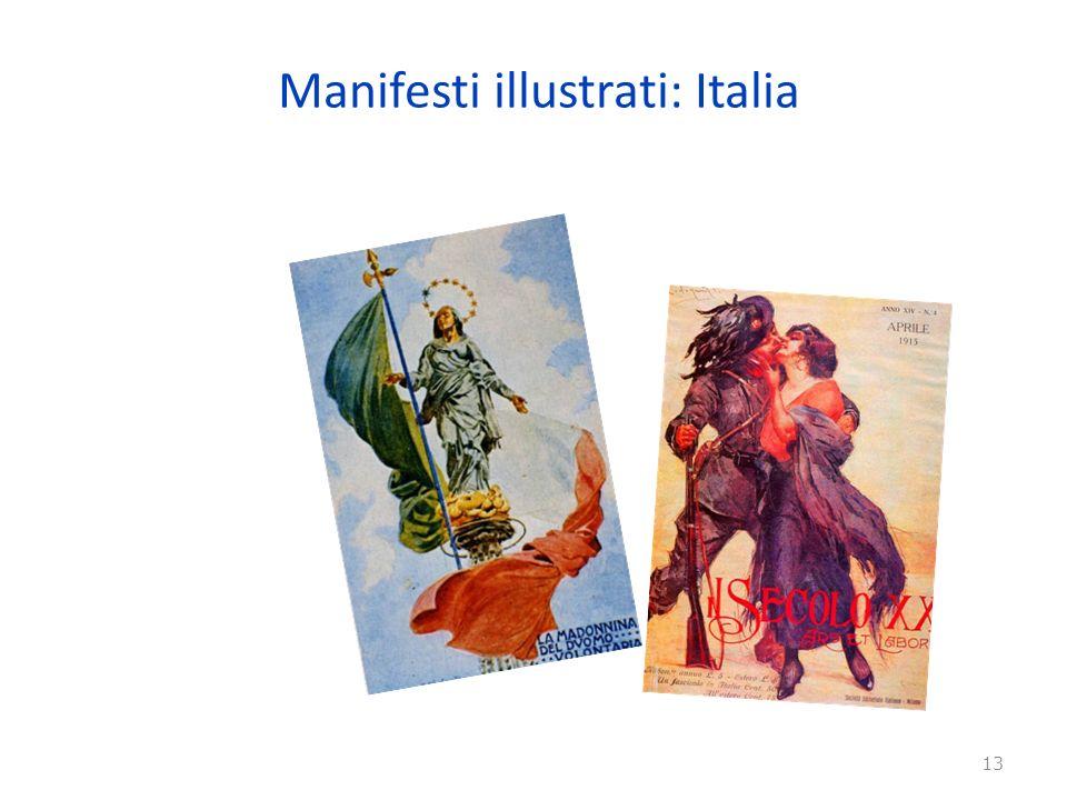 Manifesti illustrati: Italia 13