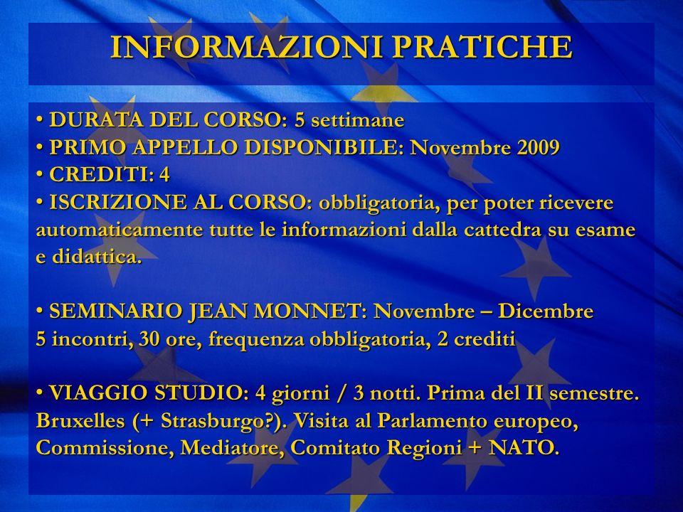 3.Siamo contemporaneamente cittadini italiani e cittadini europei.