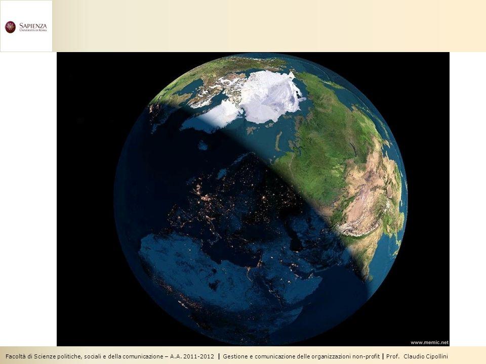 La Terra non è più blu, bianca e verde, ma blu, bianca, marrone e grigia 10 milioni di abitanti nel 10.000 a.C.