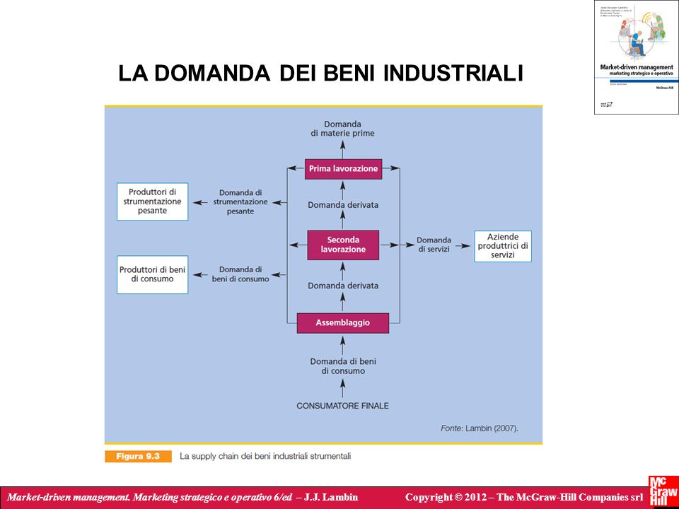 Market-driven management. Marketing strategico e operativo 6/ed – J.J. LambinCopyright © 2012 – The McGraw-Hill Companies srl LA DOMANDA DEI BENI INDU