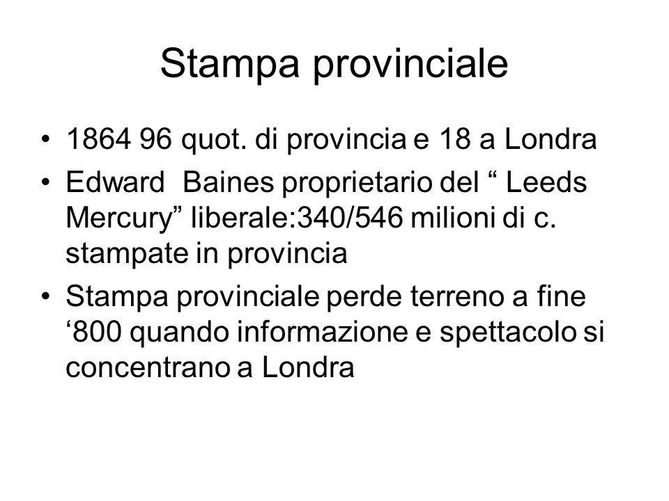 Stampa provinciale 1864 96 quot.