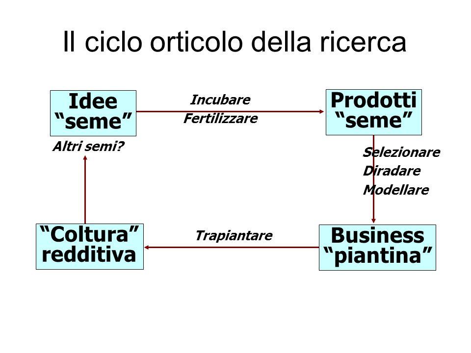 Il ciclo orticolo della ricerca Idee seme Prodotti seme Coltura redditiva Business piantina Incubare Fertilizzare Trapiantare Altri semi.