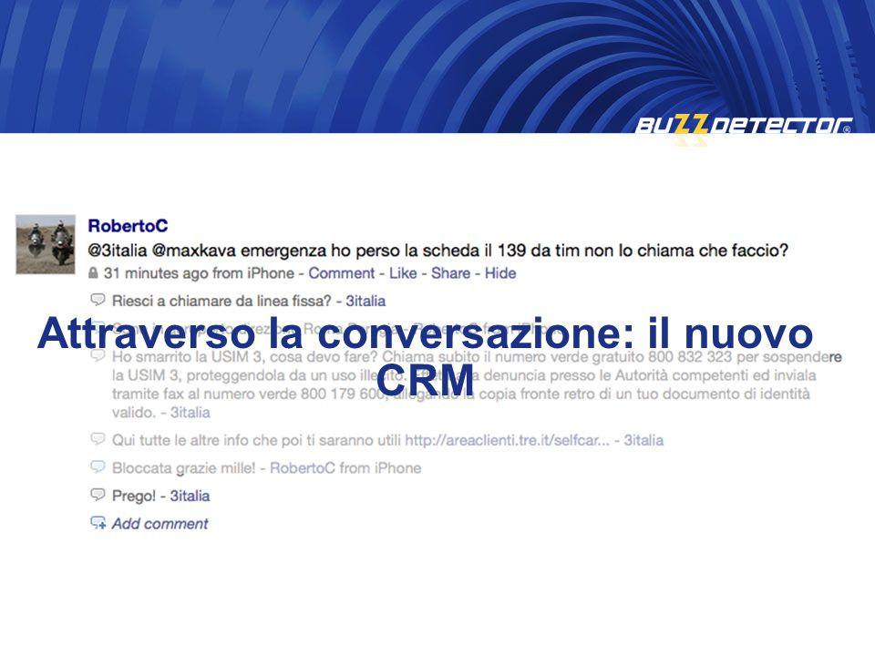 Attraverso la conversazione: il nuovo CRM