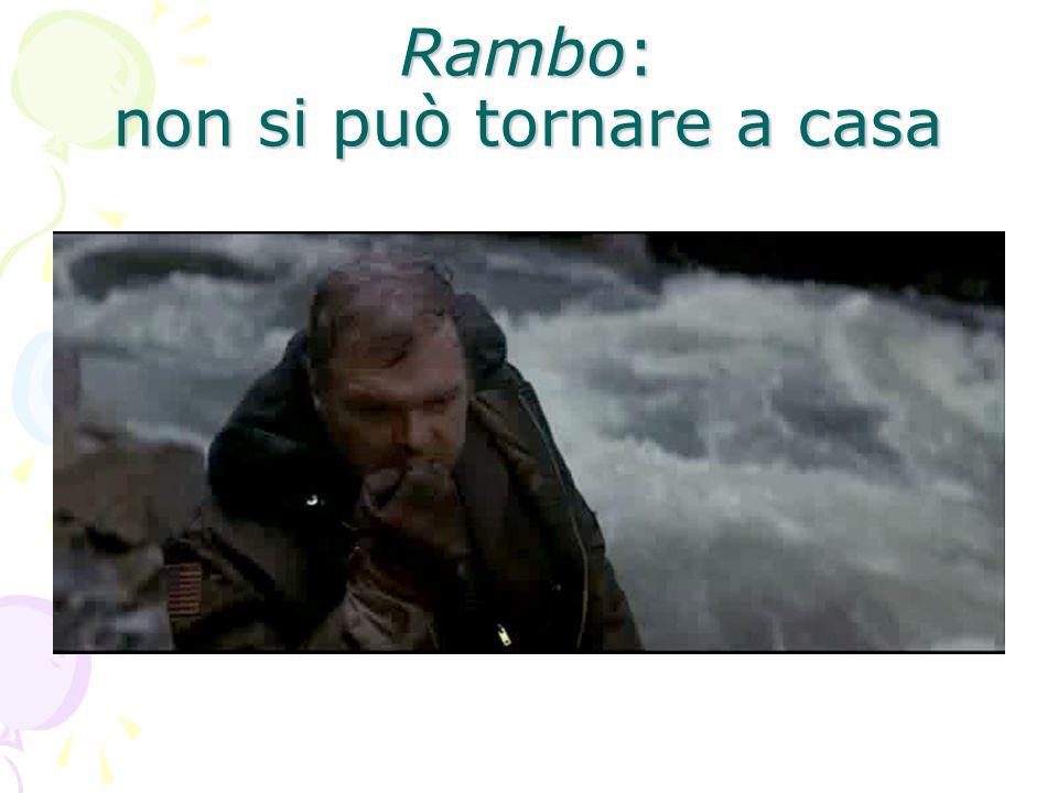 Rambo: non si può tornare a casa