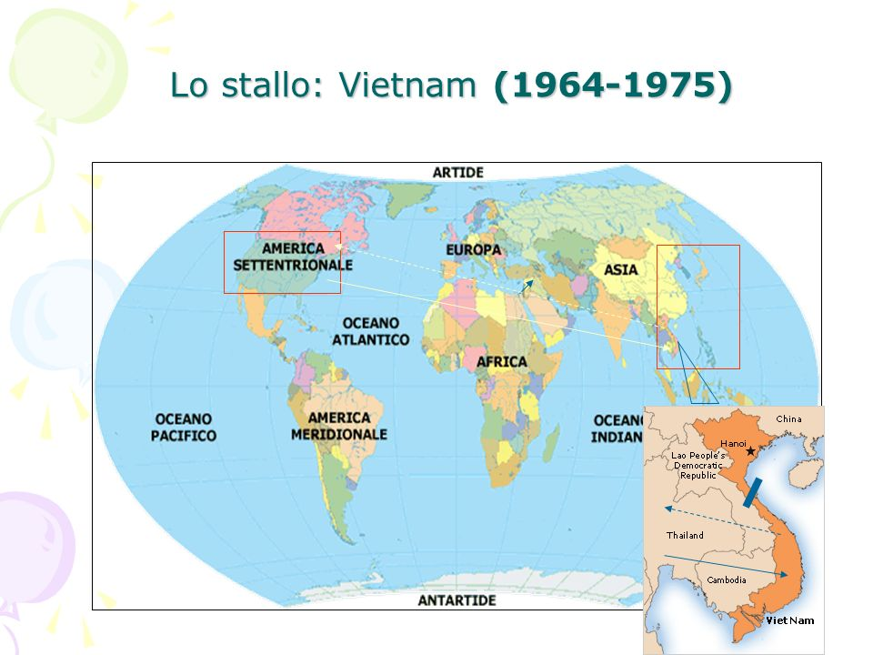 Lo stallo: Vietnam (1964-1975)
