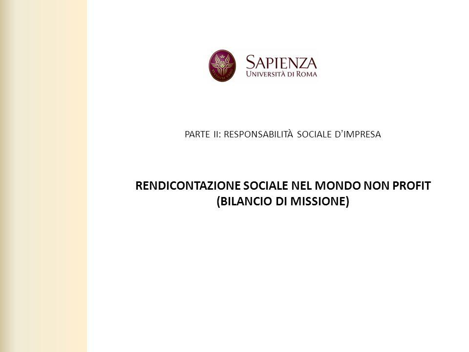 Facoltà di Scienze politiche, sociali e della comunicazione – A.A. 2010-2011 | Responsabilità sociale dimpresa | Prof. Claudio Cipollini 79 PARTE II: