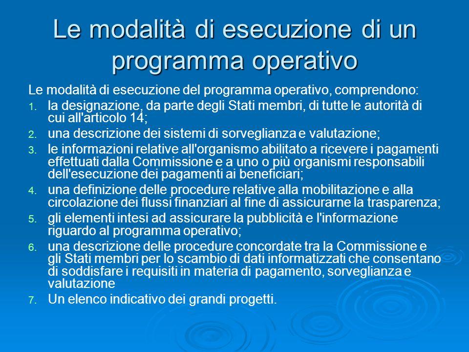 Partenariato Gli obiettivi dei Fondi sono perseguiti nel quadro di una stretta cooperazione, (in seguito: «partenariato»), tra la Commissione e ciascuno Stato membro.