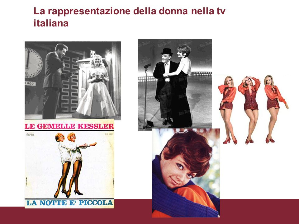 La rappresentazione della donna nella tv italiana