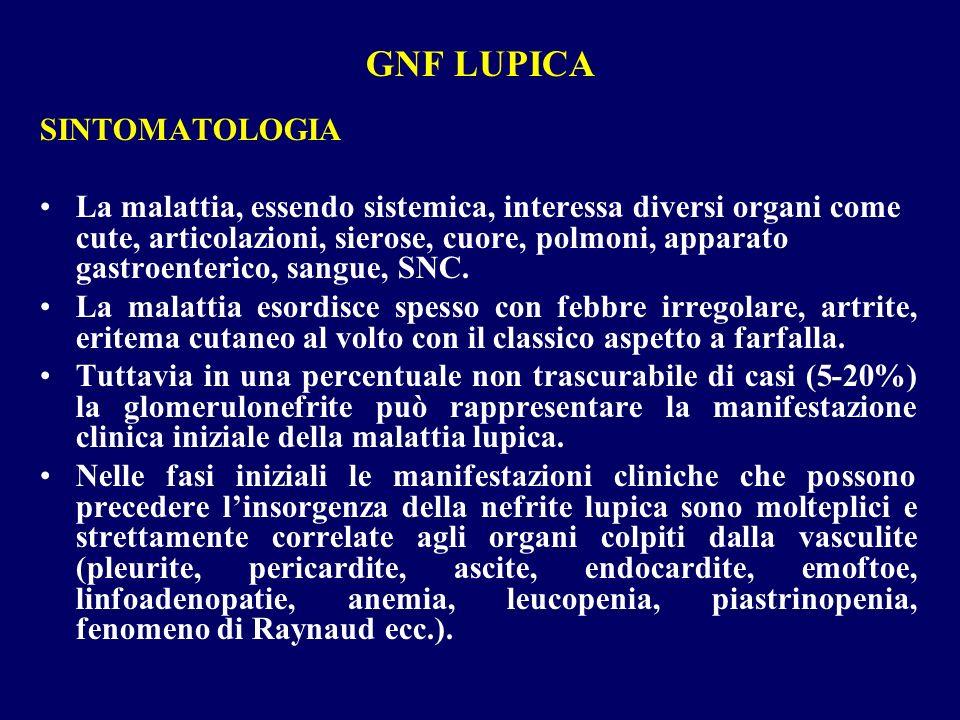 SINTOMATOLOGIA La malattia, essendo sistemica, interessa diversi organi come cute, articolazioni, sierose, cuore, polmoni, apparato gastroenterico, sa