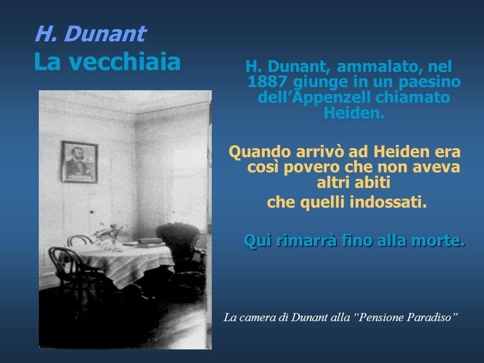 H. Dunant Vita da clochard H.D. vive di stenti come un clochard, dormendo nelle stazioni di Parigi, aperte anche la notte. Viene perseguitato e scambi