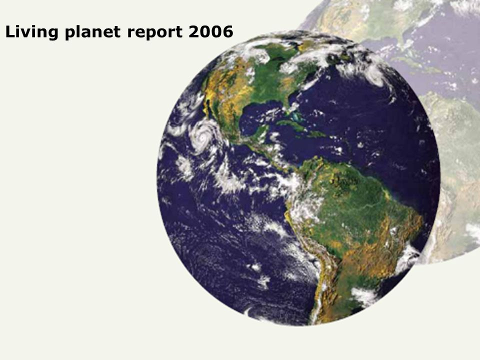 Living planet report 2006