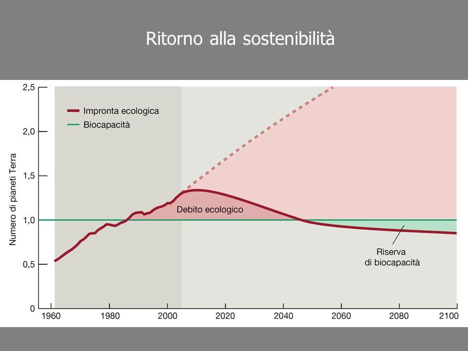 Ritorno alla sostenibilità