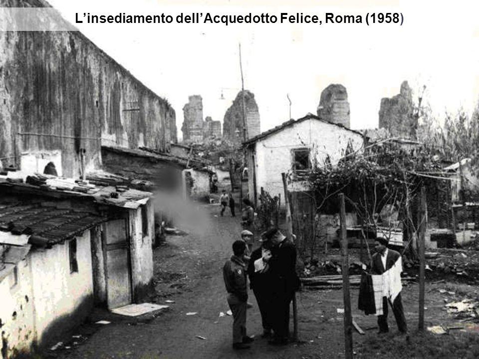 Linsediamento dellAcquedotto Felice, Roma (1958)