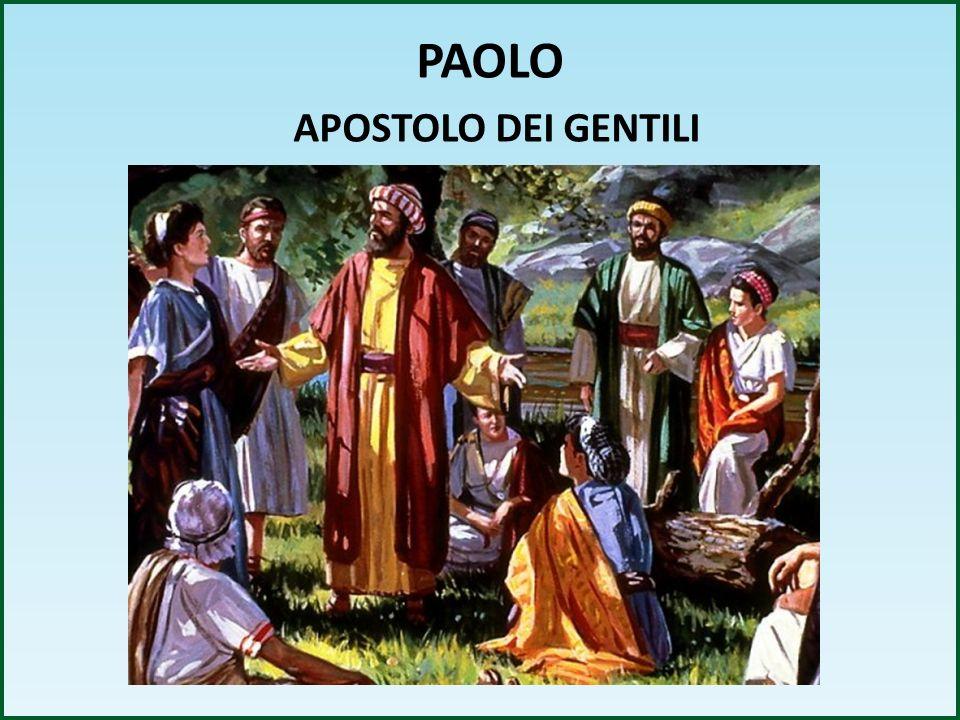 PAOLO APOSTOLO DEI GENTILI