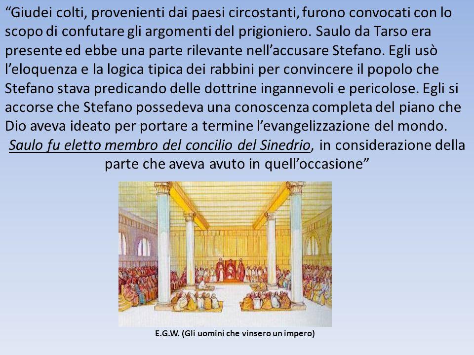 Pareva chiaro che, se i credenti gentili desideravano gioire dellamicizia di Pietro, avrebbero dovuto farsi giudei e accettare i costumi giudaici.