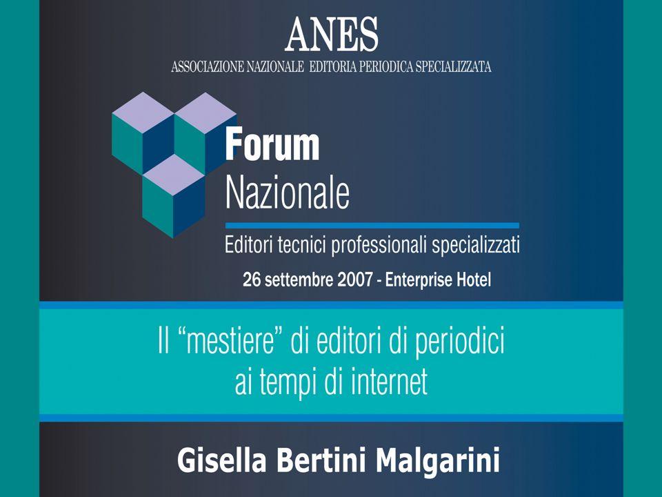 Buon giorno e benvenuti a questo primo Forum degli Editori tecnici, professionali, specializzati che ANES rappresenta.