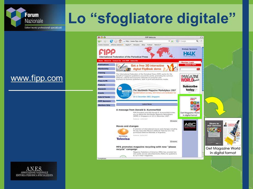 Lo sfogliatore digitale www.fipp.com