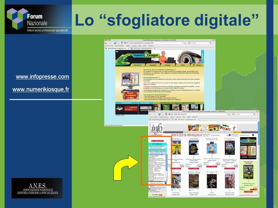 www.infopresse.com www.numerikiosque.fr Lo sfogliatore digitale