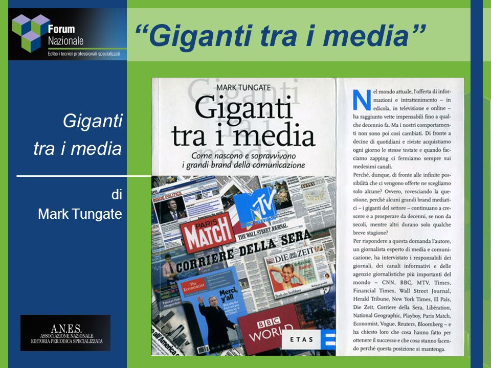 Giganti tra i media Giganti tra i media di Mark Tungate