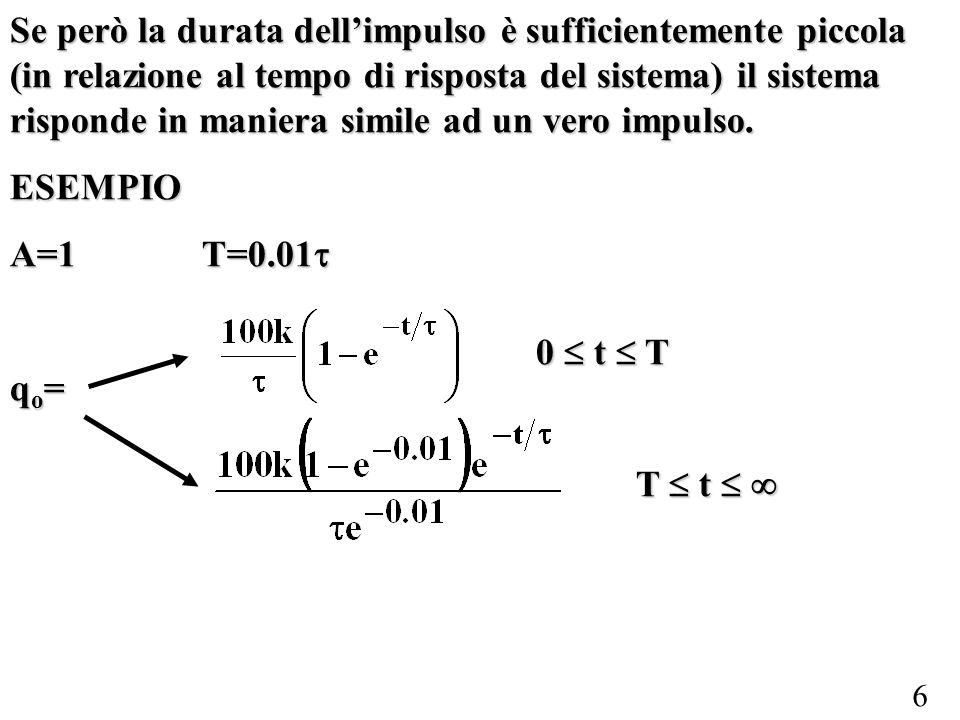 17 2°ORDINE: risposta in frequenza Si ricorda che lo strumento è pronto, ossia non distorce il segnale in ingresso qi, se il modulo della funzione di trasferimento è costante per tutte le armoniche e se la fase è 0 rad, rad o proporzionale allordine dellarmonica.