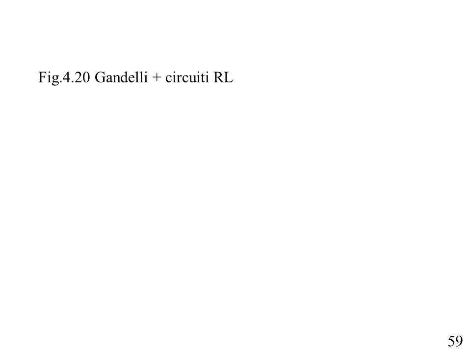59 Fig.4.20 Gandelli + circuiti RL