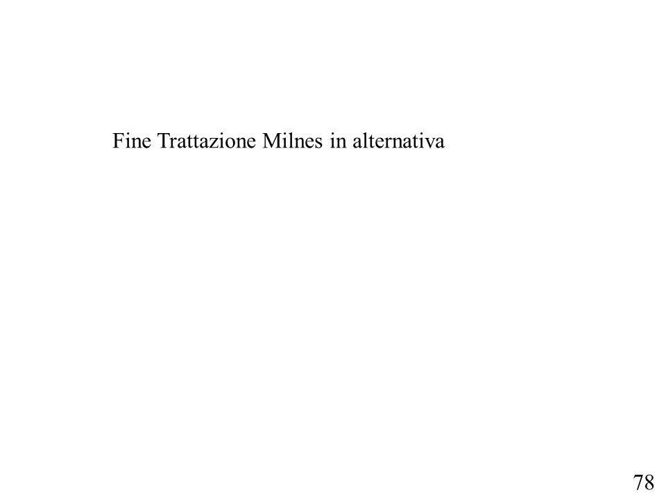 78 Fine Trattazione Milnes in alternativa