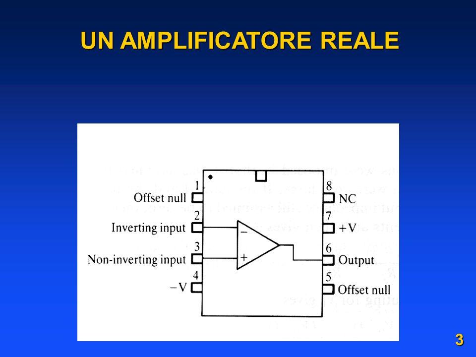 ad esempio combinando uno schema invertente e uno non invertente: R 1 V 1 V 2 C R 1 R 2 R 2 VAVA VBVB V R 2 R 1 V A V B R 2 R 1 V 1 V C V A R 2 R 1 R 2 V 2 R 2 R 1 V B R 1 R 2 R 1 V C