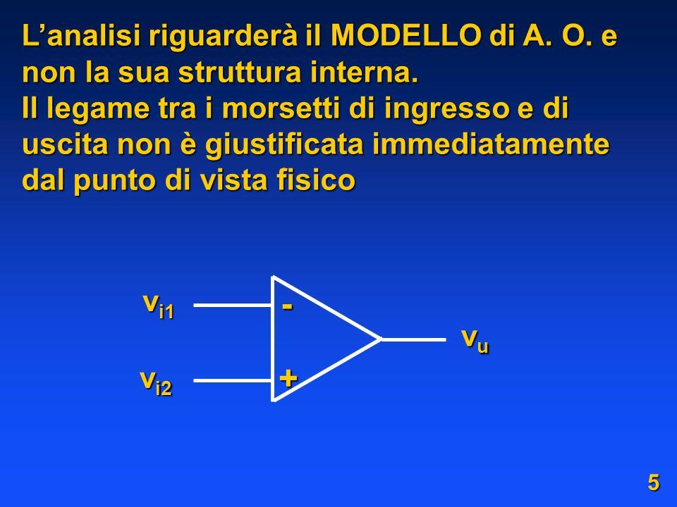 Lanalisi riguarderà il MODELLO di A.O. e non la sua struttura interna.