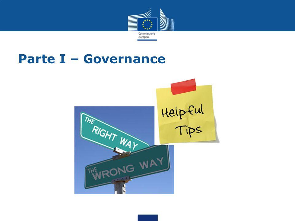 Parte I – Governance