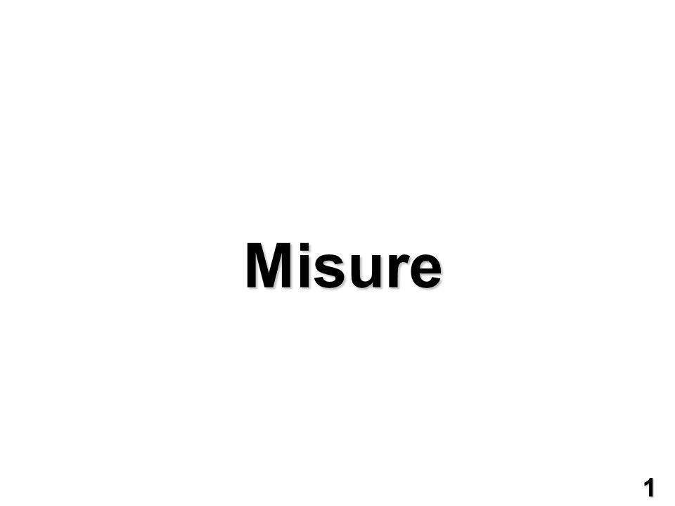 Grandezze principali e grandezze di disturbo Per la barretta, la grandezza di interesse è la larghezza, ma altre grandezze influenzano la misura, le grandezze di disturbo.