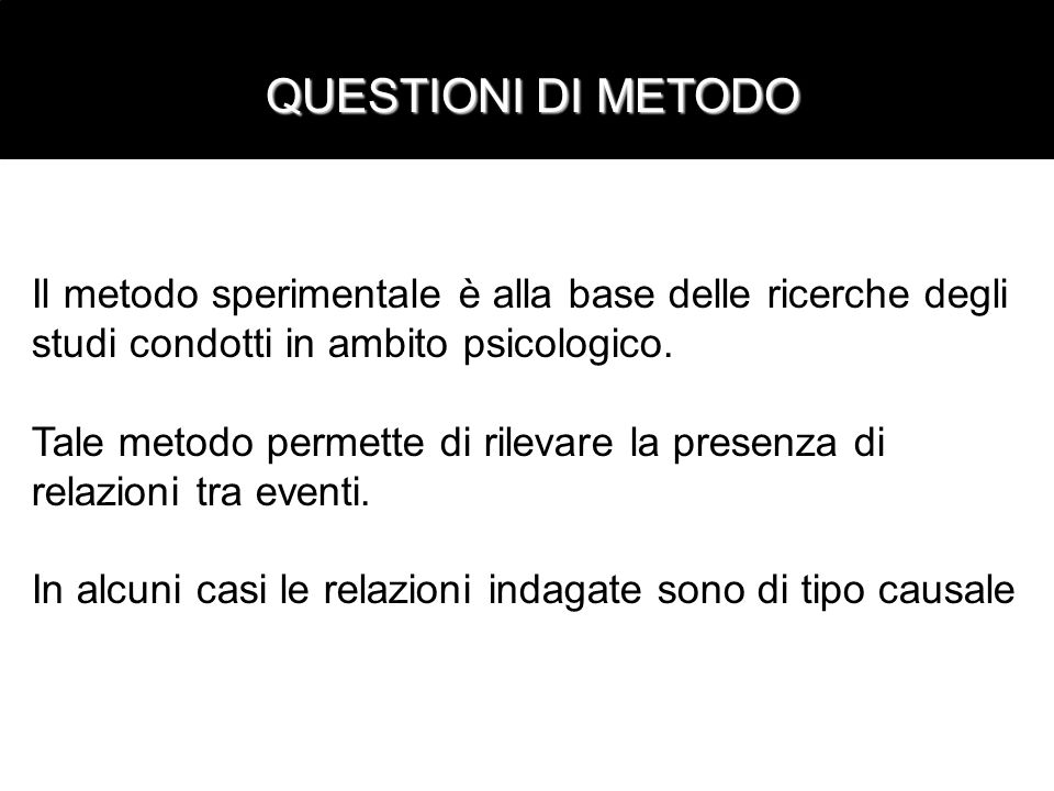 Intervista liberasemi-strutturata strutturata liberasemi-strutturata strutturata Strutturazione -+/-+ Info esplicite +++ Info implicite ++/-+/- Dati quantif.