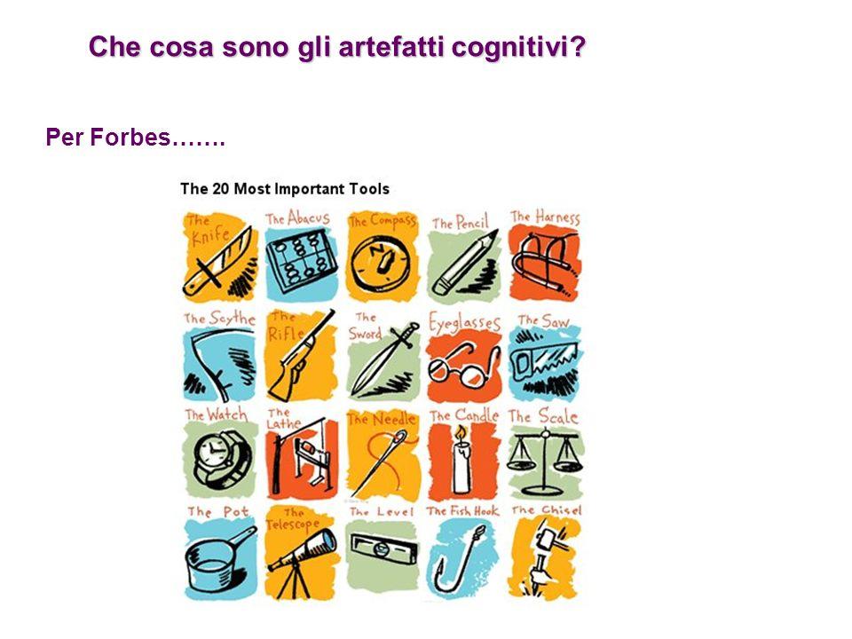 Che cosa sono gli artefatti cognitivi? Per Forbes…….