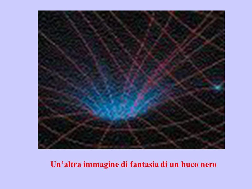 Unaltra immagine di fantasia di un buco nero