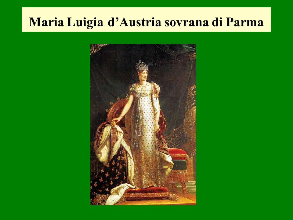 Maria Luigia dAustria sovrana di Parma