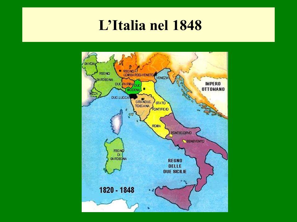 LItalia nel 1848